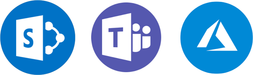 Sharepoint Teams Azure Icons Trimmed